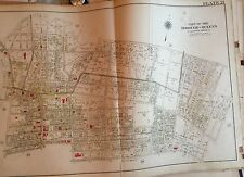1909 Murray Hill Flushing H.S. Ps 20 & 22 Armory Court Queens, Ny Plat Atlas Map