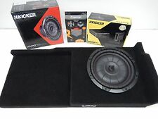 "2007 to 2013 GMC Sierra Ext Cab Sub Box Amp Enclosure Extended cab 3/4"" MDF"