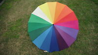 Shelta Golf Rain Sun Umbrella - Rainbow