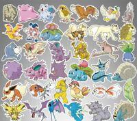 80pc No repeat Pokémon Stickers POKEMON GO Pikachu Luggage Decal Ornament Mark B