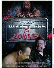 Rowdy Roddy Piper Pro-Wrestlers Vs Zombies 2 Disc DVD & CD Horror Movie Film NEW