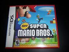 Replacement Case (NO GAME) New Super Mario Bros. Brothers Nintendo DS NDS Box