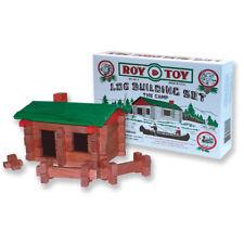 Roy Toy: Original Log Cabin, 37 pcs.