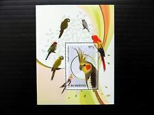 ROMANIA 2011 Parrots M/Sheet U/M NB1065