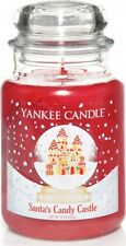 Yankee Candle Limited Edition Santa's Candy Castle Large Jar 623g
