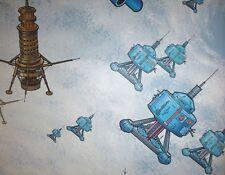 1 double Roll Vtg 1979 Disney Movie BLACK HOLE Wallpaper Atomic Spaceship NOS