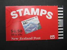 NEW ZEALAND 1992 $4.50 LANDSCAPES BOOKLET SG SB 62