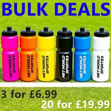 Sports Water Bottles [750ml] - BPA FREE PLASTIC BOTTLES - Sports Cycling Bottle