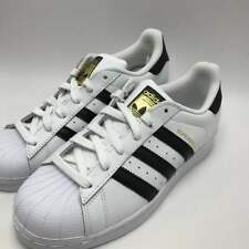 4d4bfe1c5602 adidas Superstar J GS White Black Gold C77154 US 7