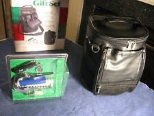 Golfer Gift Combo Set: Golf Bag Cooler and Golf Valet w/ Golf Ball Monogrammer