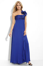 JS Collections One Shoulder Taffeta & Chiffon Gown (10)