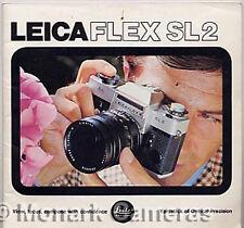 Leicaflex SL2 Camera & Lens System Sales Brochure, More Leica Books Listed