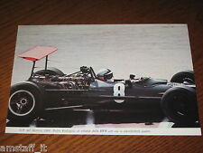 (191)=G.P. F.1 MESSICO 1968 PEDRO RODRIGUEZ BRM=RITAGLIO=CLIPPING=FOTO=