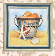Home Decor Wall Painting Picture Canvas Wooden Frame Wall Art Crabby's Roost Des