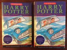 Rare 1st Edition 4th Print Harry Potter And the Chamber Of Secrets Hardback