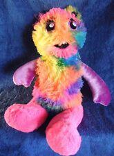 *1809b*  Build-a-Bear workshop - Rainbow monster with mixters - plush - 45cm