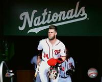 BRYCE HARPER Washington Nationals LICENSED unsigned poster print 8x10 photo