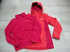 The North Face Womens Evolve Triclimate 3in1 Jacket Fleece Hyvent Waterproof M