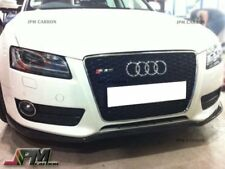 For 2013-2015 AUDI A5 Standard Only P Style Carbon Fiber Front Bumper Add-on Lip