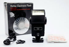 Vivitar 283 Electronic Flash With Accessories Boxed Made In Japan