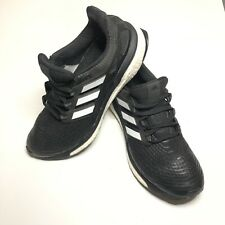 Adidas Men's Size 9 US Energy Boost Running Shoes Continental Black Sneakers