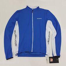 Giordana Fusion Men's Long Sleeve Cycling Jersey Blue Medium E810433
