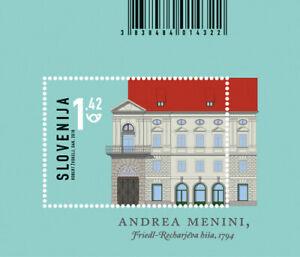 Slovenia 2018 * Architecture in Slovenia - Friedl-Rechar building * MNH