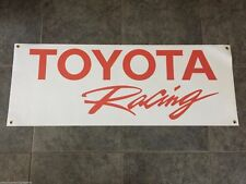 Toyota Racing banner sign stock car off-road motorsports drifting Tundra Camry