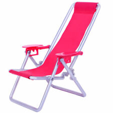 1/6 Dolls House Miniature Beach Deck Chair for Barbie Hot Toys Accessories