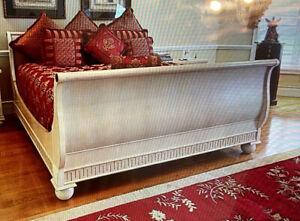 DREXEL HERITAGE SANTORINI KING SLEIGH BED