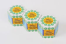 3 x Original Large - White Tiger Balm -SPECIAL PRICE 18gm