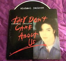MICHAEL JACKSON They Don't Care About Us RARE Australian Card CD Single