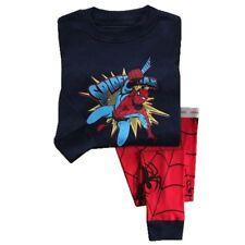 Autumn new listing Kids Boys Spiderman pajamas set 4T nightclothes sleepwear