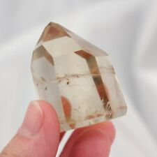 "1.6"" 40mm Polished Rutilated Citrine Point Quartz Crystal Brazil 1.7oz (49g)"