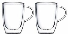 Home Fashions 15 oz. Double Wall Insulated Glasses Pack of 2