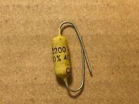 NOS Vintage Mullard .0022 uf 400v Mustard Capacitor Guaranteed 2200 pf (Qty Ava)