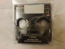 Weaver Optics 1 Inch scope Medium Rings, Set of 2 Matte 49303 Nib