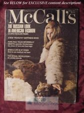 MCCALLs October 1967 Oct 67 RUSSIA LOOK AMERICAN FASHION MARY CARTER +++