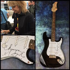 GFA The Pretenders CHRISSIE HYNDE Signed New Electric Guitar PROOF AD1 COA