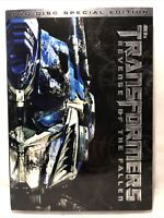 Transformers Revenge of the Fallen DVD Movie 2009 2 Disc Special Edition
