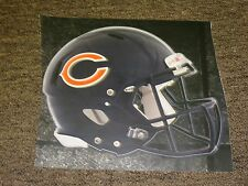 "CHICAGO BEARS HELMET NFL Fathead Wall Graphics 11"" x 9""  (Poster/Sticker"