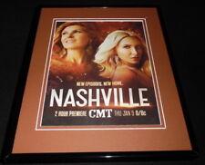 Nashville 2017 CMT 11x14 Framed ORIGINAL Advertisement Connie Britton