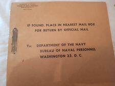 USNR LT Thomas E Prior served from 1946-1961 original record