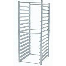 Advance Tabco Rr-16-X Lite Series Aluminum Reach In Rack Holds 16 Full Size Pans