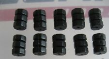 10 x BLACK CABLE DONUTS for cycle Inner Brake Wire  **NEW**