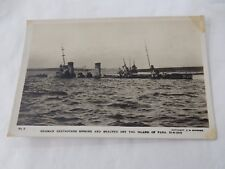 SCAPA FLOW  WW1 POSTCARD DIVE DIVER  ORKNEY  NICE GIFT POTENTIAL for diver
