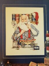 Carol Emmer Designs Cross Stitch Chart: Santa the Toymaker