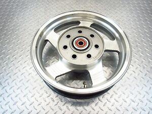 2000 99-01 Kawasaki Vulcan 1500 Nomad OEM Rear Wheel Rim Straight Video 16x3.5