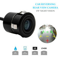 NEW 170 Waterproof Wide Monitor Car Reverse Camera Rear View Parking LED Sensor