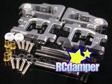 ALUMINUM FRONT & REAR LOWER ARM S TAMIYA 1/10 TT01D TT01R TYPE E TT 01 01D 01R